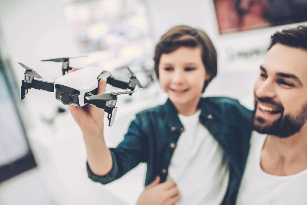 Kinder Drohne
